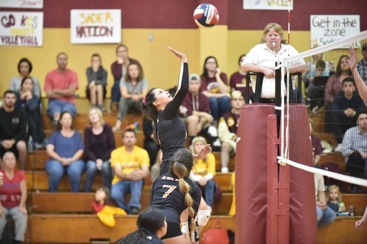 Selma volleyball: Clarissa Moreno