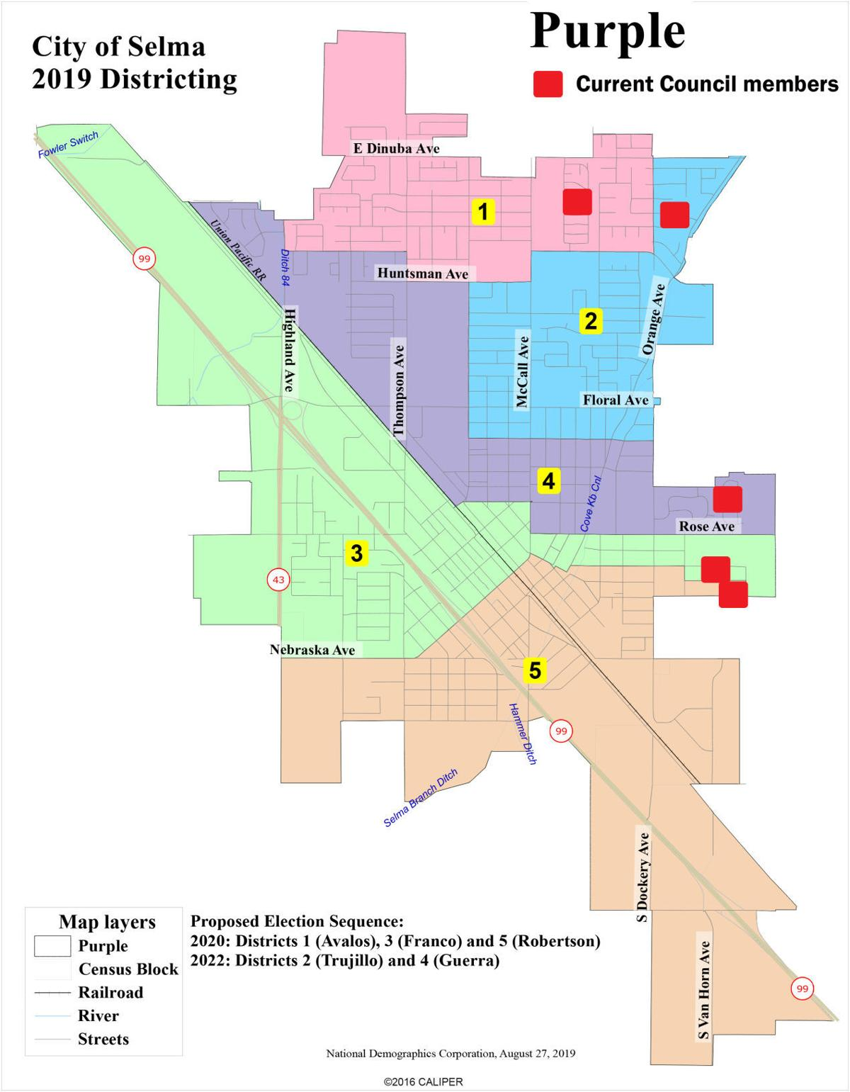 Selma Council district maps considered | Community