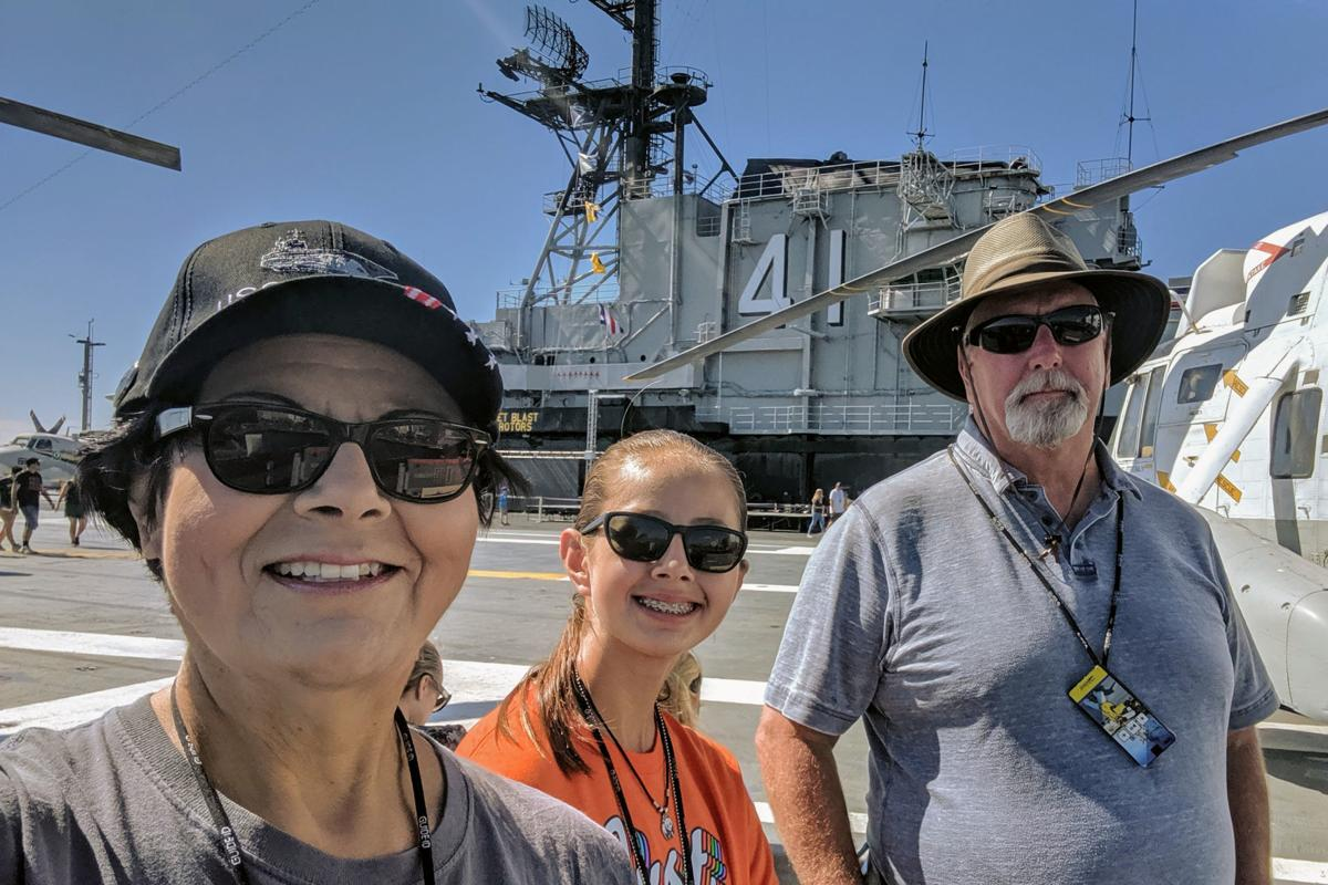Summer vacation: USS Midway