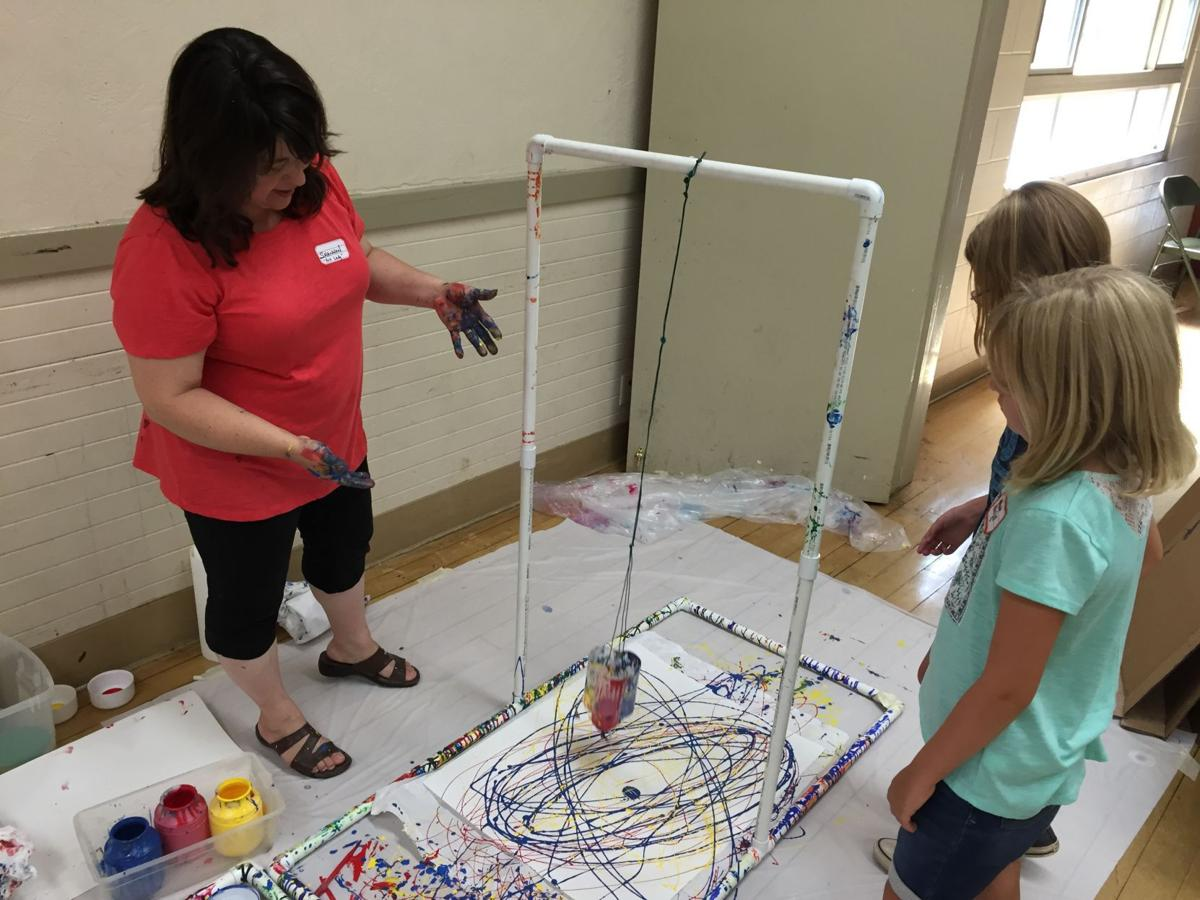 Camp offers art and science experiments