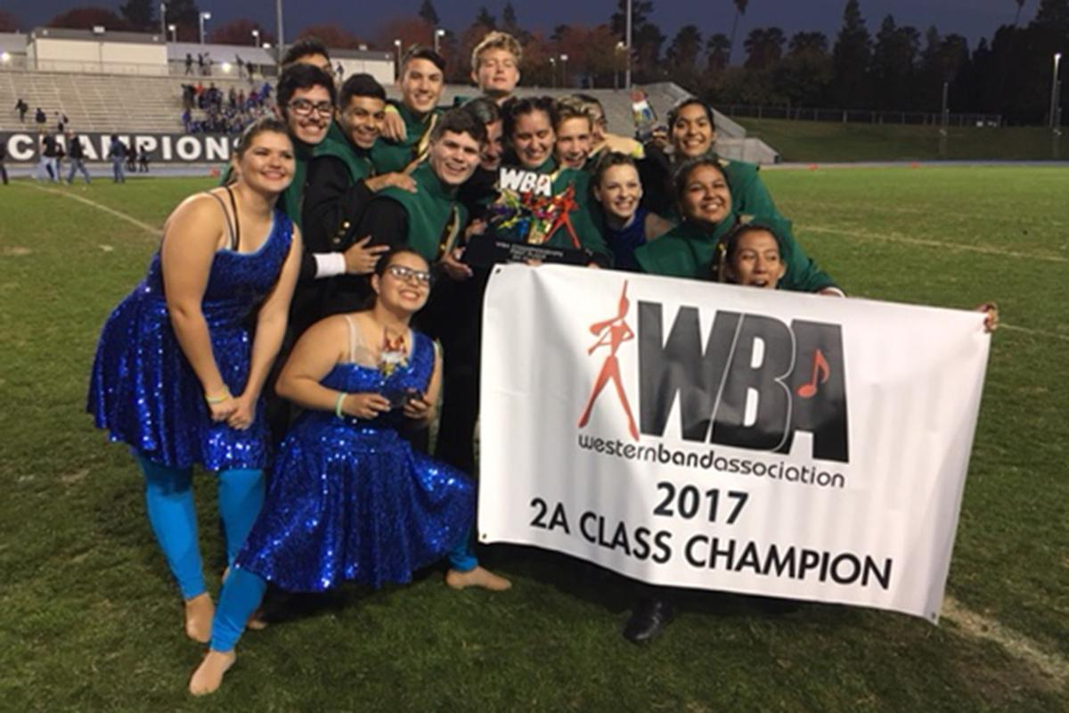 Kingsburg High's Marching Band: Seniors