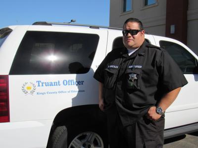 Truancy Officer Brian Gonzales