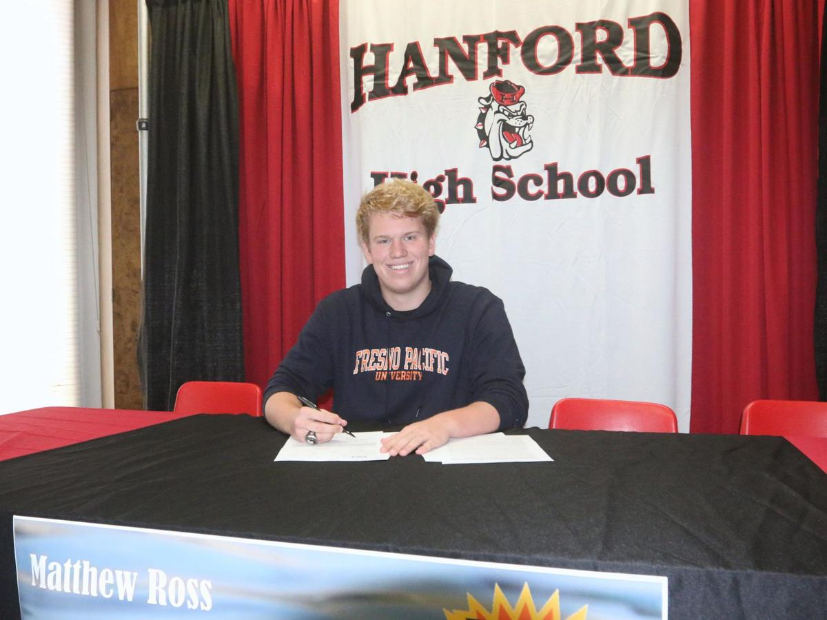 Ross signs with Fresno Pacific University