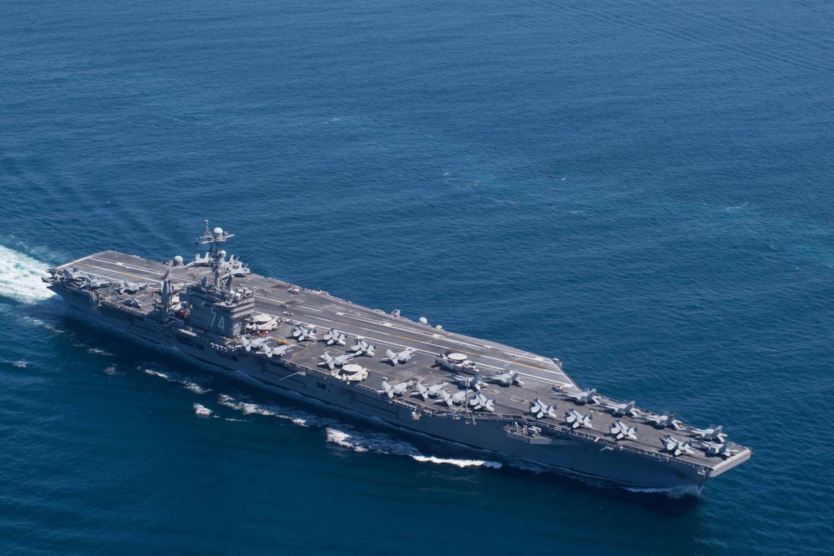USS John C. Stennis changes command