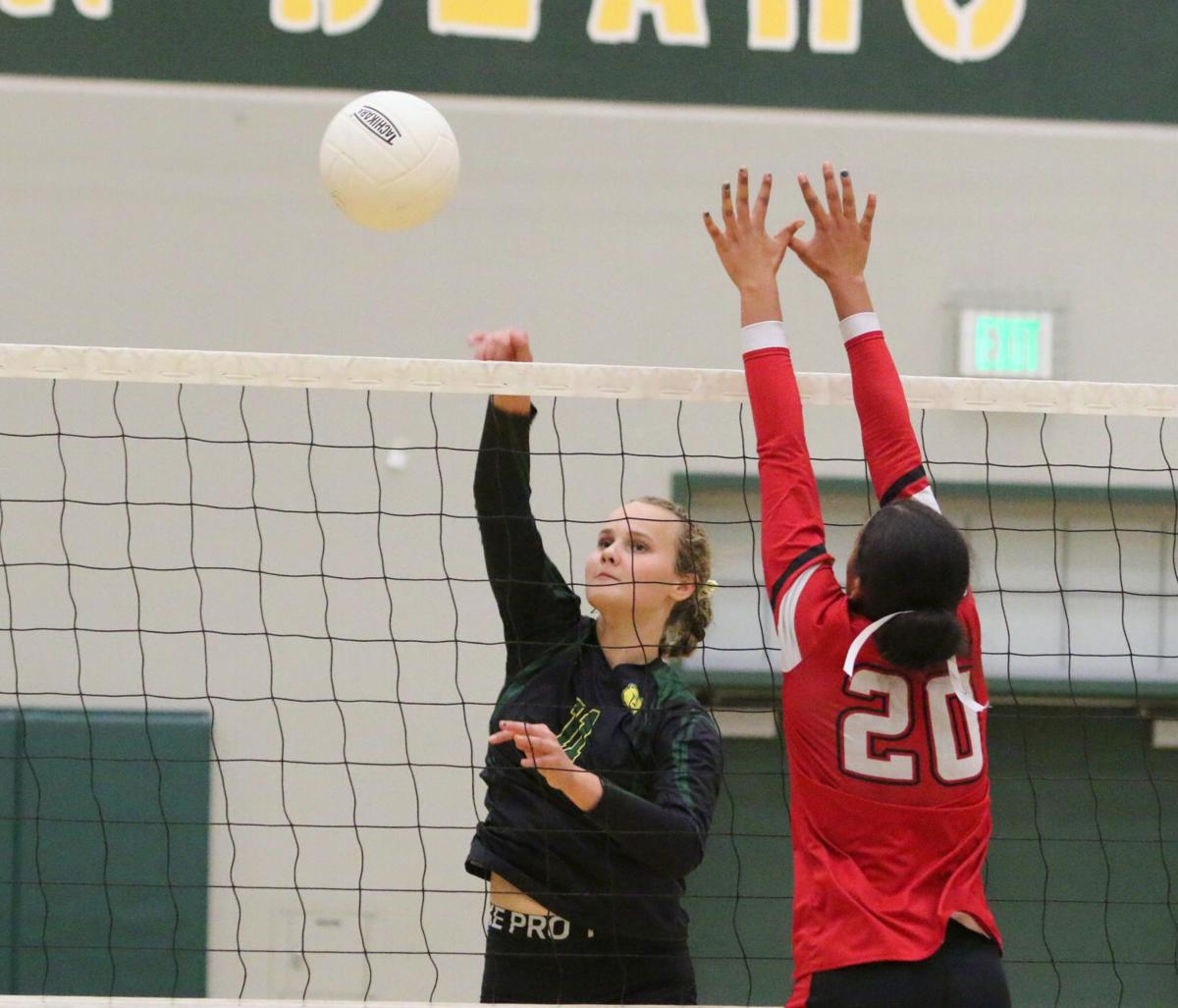 Sierra Pacific cruises past McFarland in opening round of volleyball playoffs