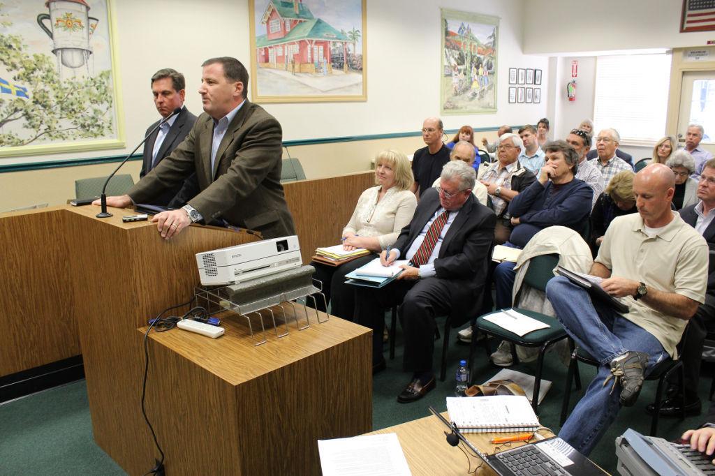 Hospital board: Hears proposals