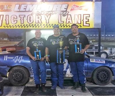 Baronian Wins CVMS Mini Stock Race At Lemoore Raceway