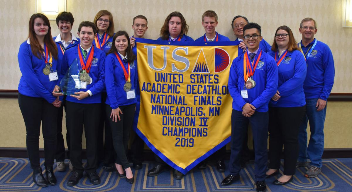 LMCHS AD team wins at Nationals
