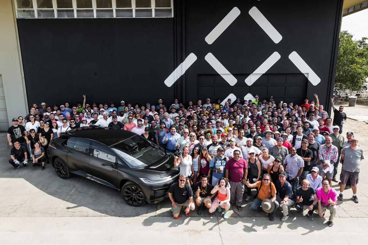 Faraday Future clean up day