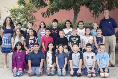 Students of the month: Reagan Elementary