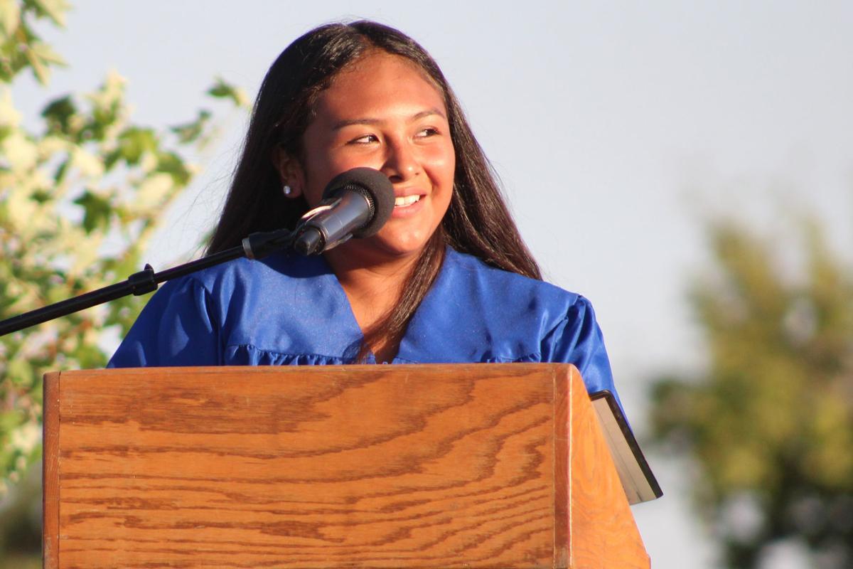 Eighth graders: Reyna Simons