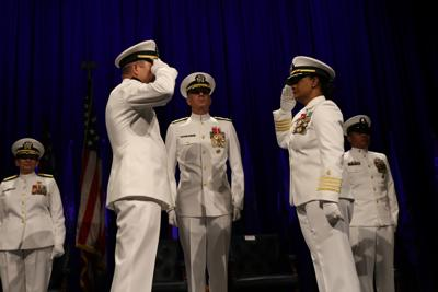 Naval Health Clinic Lemoore Holds Change of Command Ceremony