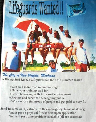 abae9dbf0ae2 City of New Buffalo seeking lifeguards