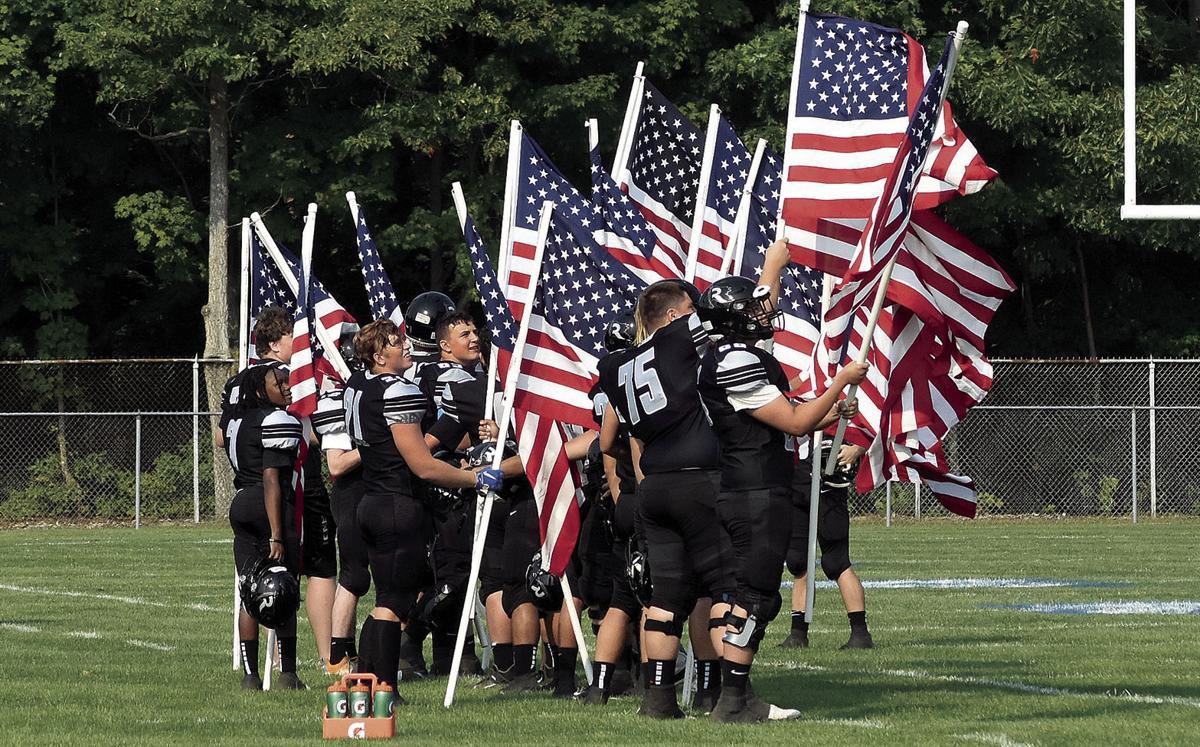 9 16 911 1 Football Flags