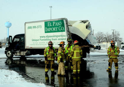 b 1 3 Oaks Crash truck w firefighters.jpg