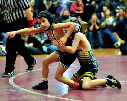 Youngsters in River Valley Club learn to wrestle MYWAY