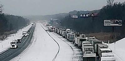 Polar conditions lead to crashes, closings | News