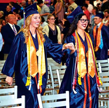 Graduation Entrance