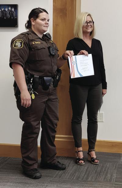 8 19 NB Twp Deputy commended