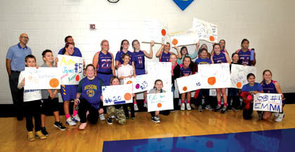 2 28 SPorts 1 NB Cancer Games El Signs and girls team.jpg