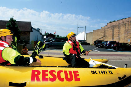 7 19 Bridgman 2 Parade rescue boat.jpg