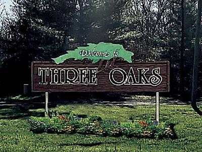 5 20 Three Oaks Sign