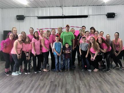 ArmSTRONG Pink Party at Hartford City Health Club