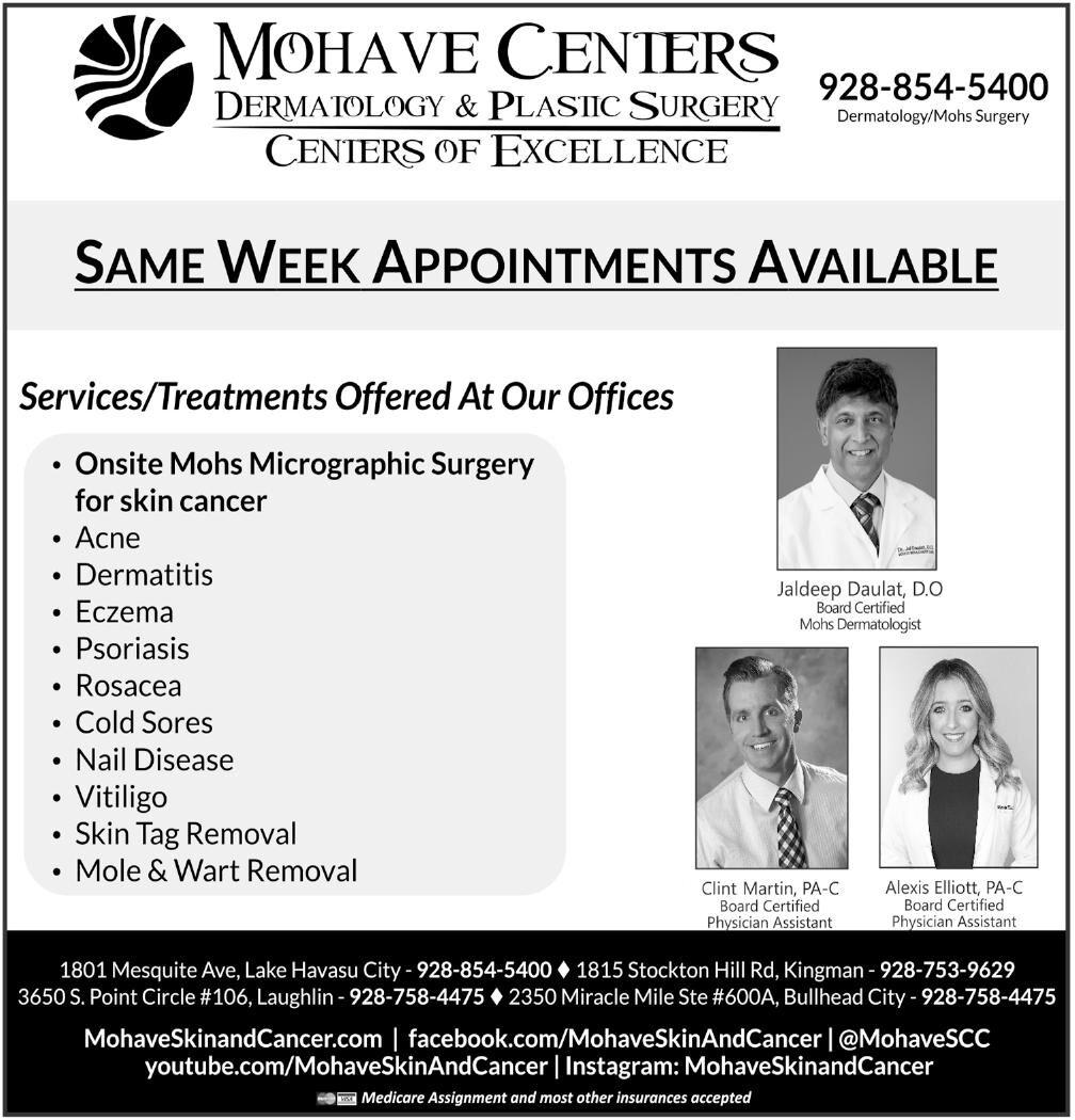 Mohave Centers Dermatology & Plastic Surgery