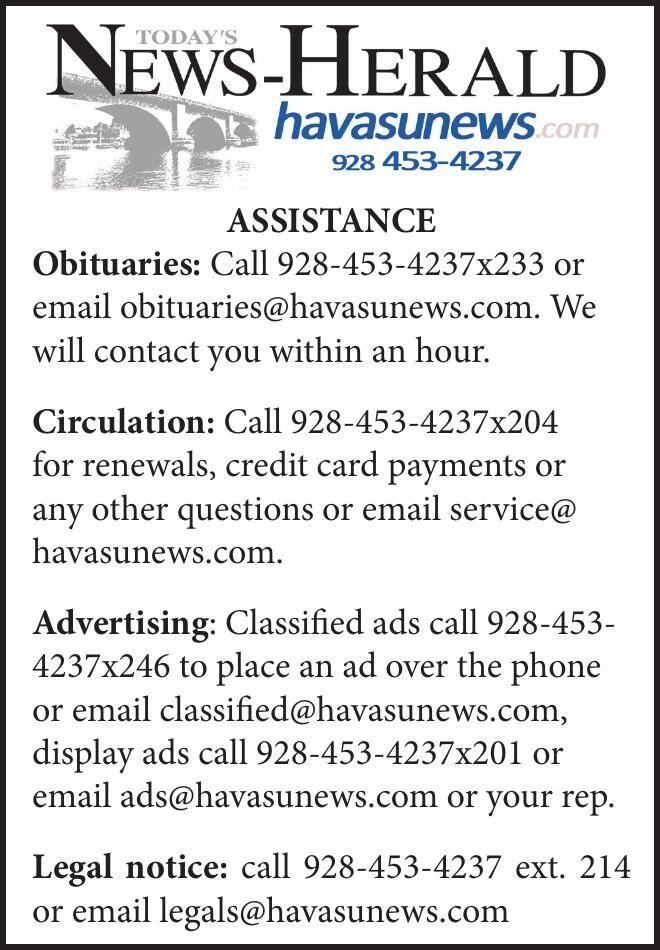 RCN Contact Info