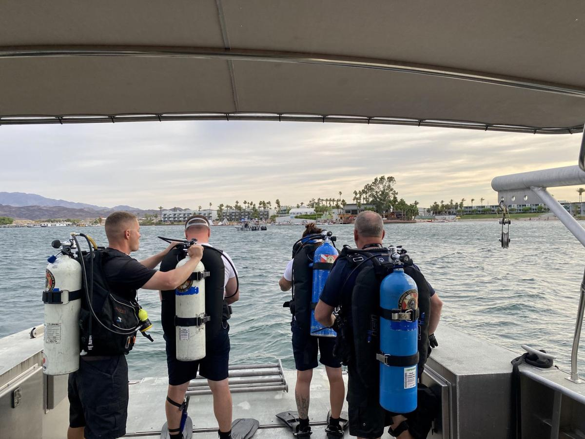 Search for boating passenger