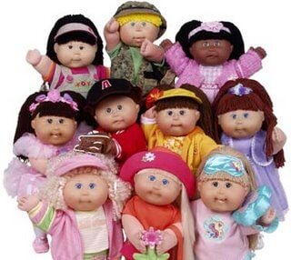 1983: Cabbage Patch Kids