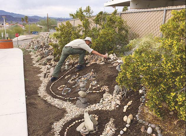 Havasu man's rock art adds character to Pima Wash neighborhood