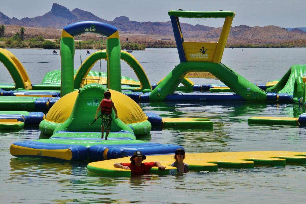 Inflated, wet and wild fun ahead