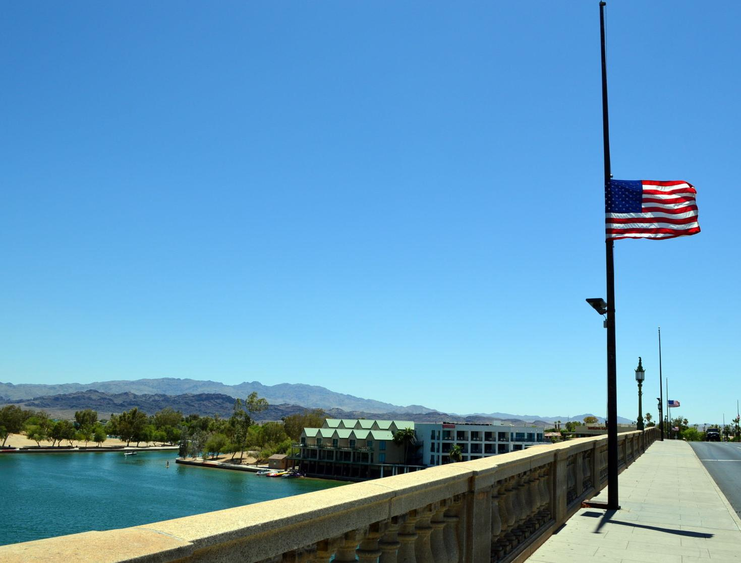 Why are flags at half staff in Arizona on Wednesday, Sept. 22, 2021?