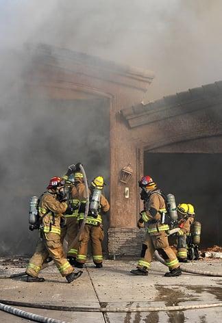Blaze rips through RV garage causing $150K in damage