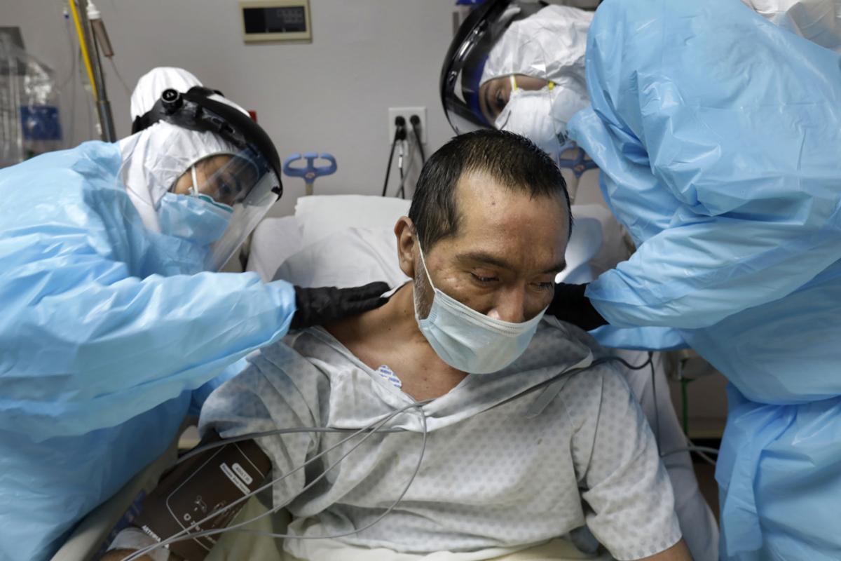 US-NEWS-CORONAVIRUS-TEXAS-HOSPITAL-4-LA