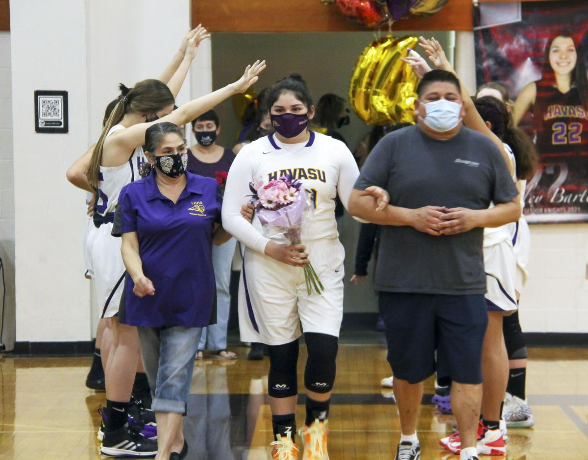 Lake Havasu hosts senior night vs. Lee Williams