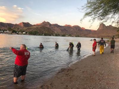 Divers from La Paz County Sheriff's Office