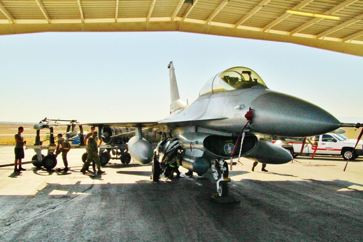 F-16 at Lake Havasu Municipal AIrport