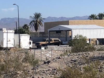 Vehicle found near Needles