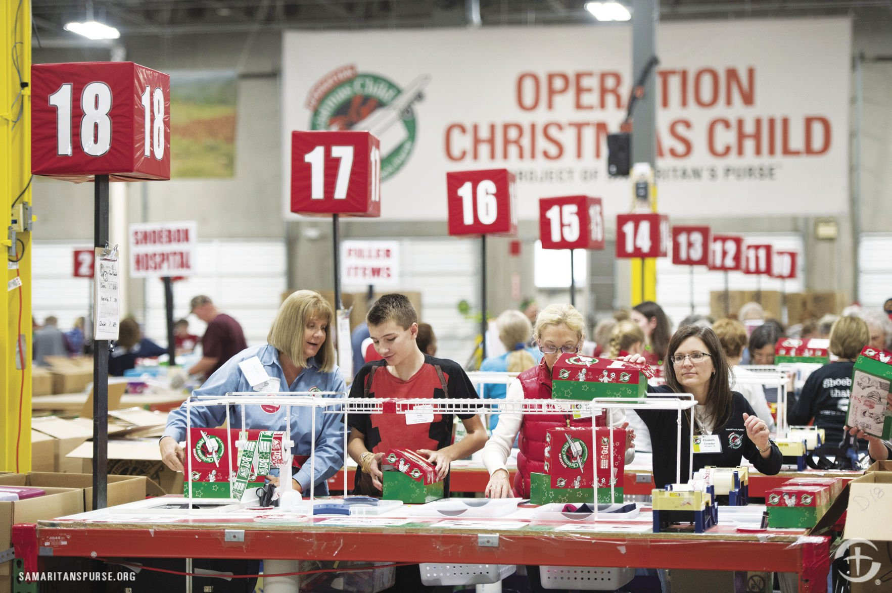 Operation Christmas Child' prepares to launch | Free Access ...
