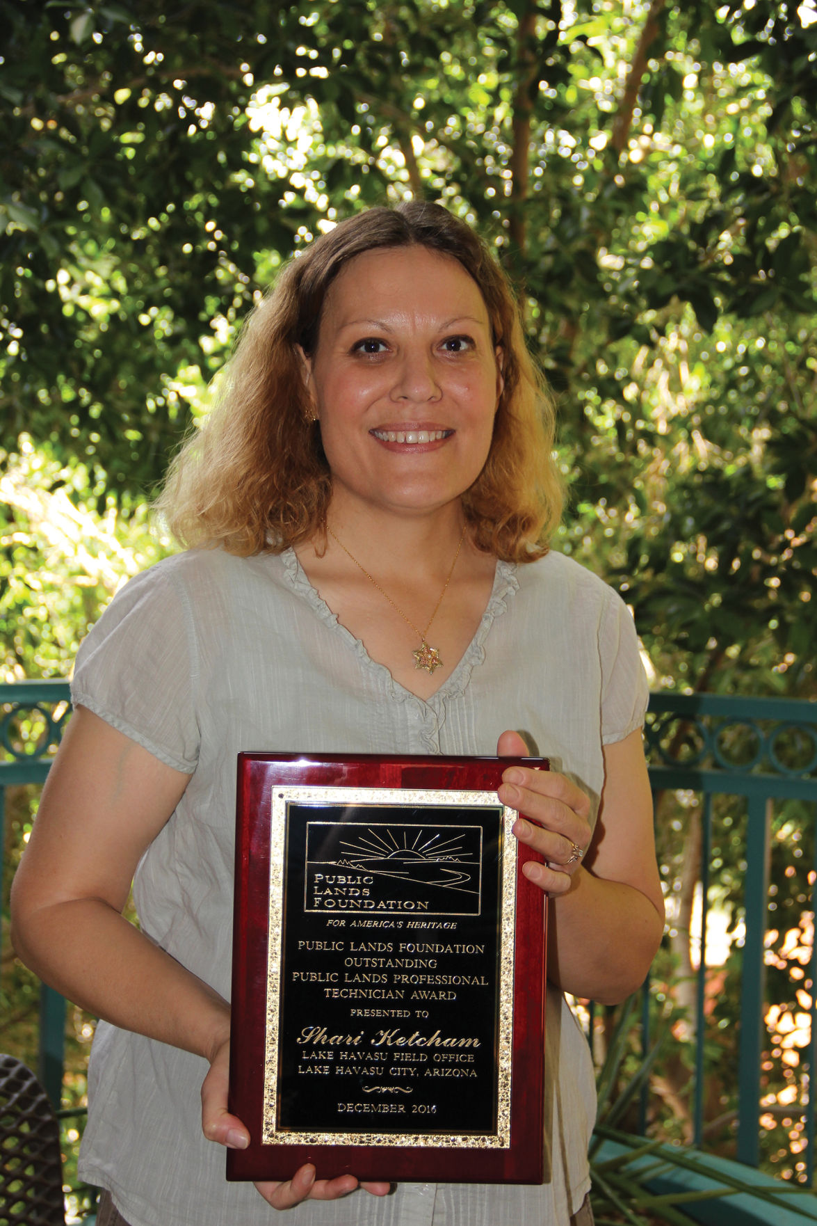BLM employee receives national recognition for professional ...