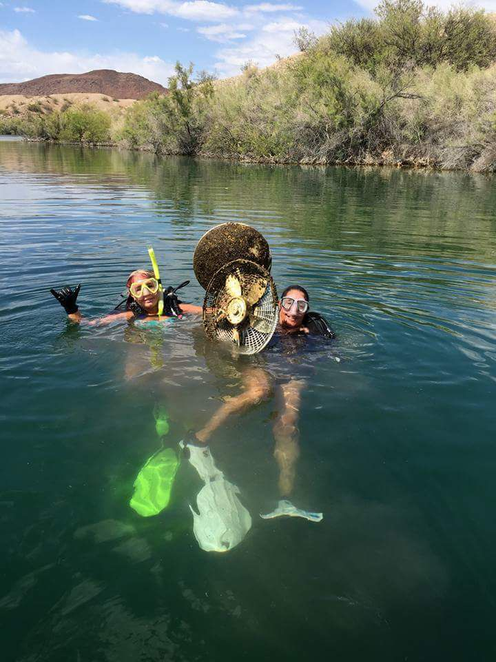 Divers Clean Up Memorial Day Mess At Copper Canyon Local