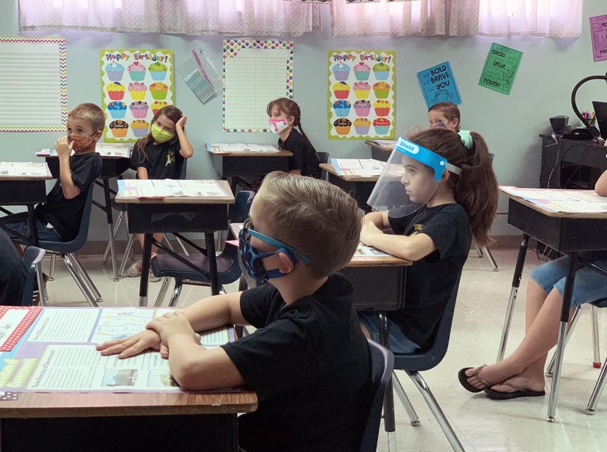 Telesis:  K-5 Students return to classrooms
