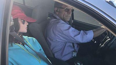 Fake passenger in carpool lane leads to citation for Arizona