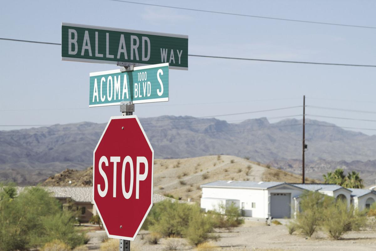 a way forward: havasu dedicates street honoring a long-time