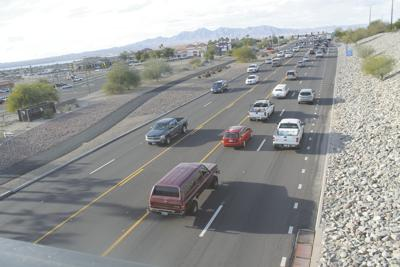 Can medians slow down drivers on State Route 95? A Havasu transit group hopes so