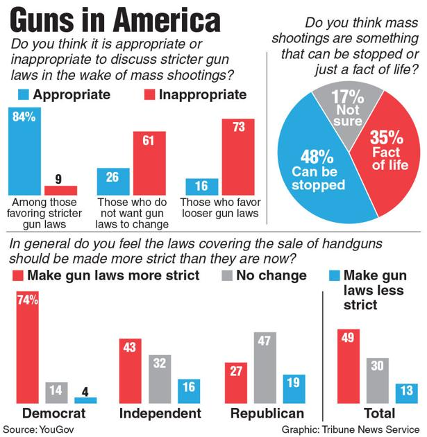 Access To Safer Guns Favored By Most In US