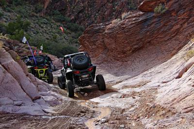 OHV riders on Arizona Peace Trail