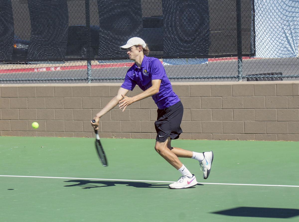 Lake Havasu boys tennis vs. Betty H. Fairfax